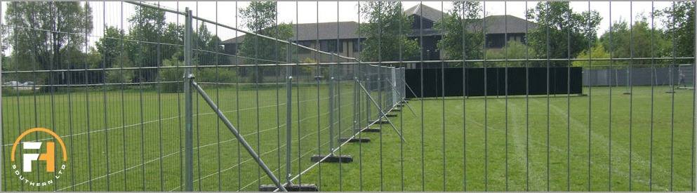 temporary site fencing for hire